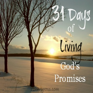 31 Days of Living God's Promises-Intro
