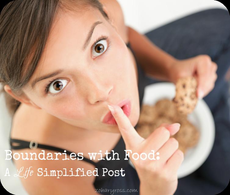 Setting Food Boundaries- A Life Simplified Post