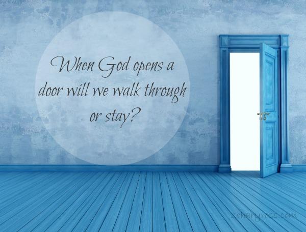 When God Opens a Door