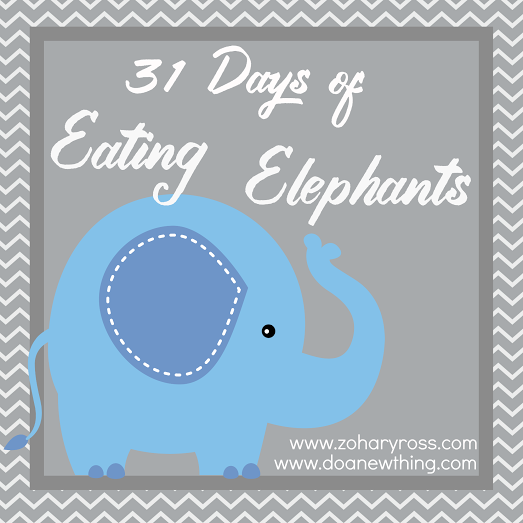 Introducing 31 Days of Eating Elephants