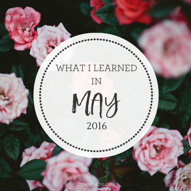 may lessons
